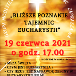 """""""Bliższe poznanie tajemnic Eucharystii"""""""